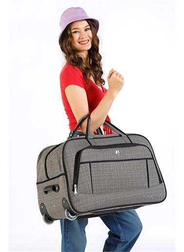 TH Bags Valiz Gri